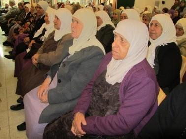 اعضاء نادي المسنين في كفركنا يحيون ذكرى المولد النبوي