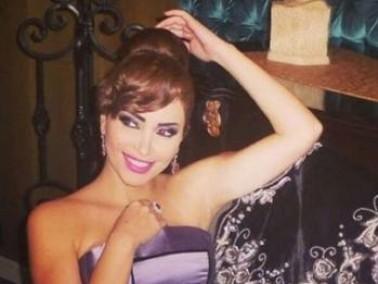 بالصور: نسرين طافش بإطلالة ملكية تشع أنوثة