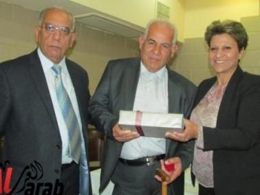 تكريم المربي هاني سليمان في الناصرة