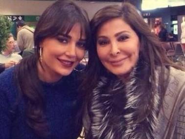 بالصورة:اليسا وسيرين عبد النور تلتقيان في ميلانو