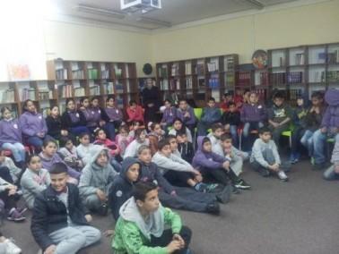 اسبوع الانترنت الآمن في مدرسة القسطل الناصرة