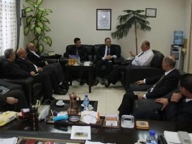"""خبراء """"اديك"""" يزورون الجامعة العربية الامريكية"""