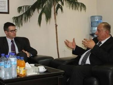 رئيس العربية الامريكية يلتقي ممثل استراليا