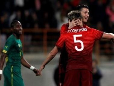 رونالدو يقود البرتغال لسحق الكاميرون