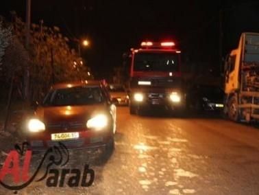 الشرطة تحقق بإحتراق شاحنة في كفرقرع