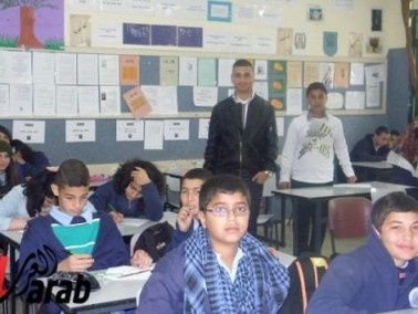 فعاليات مميزة لطلاب إعدادية مصمص بيوم الطالب