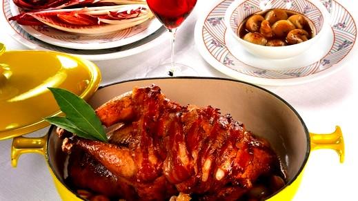 طبخة اليوم:دجاجة محمّرة مع الفطر وصلصة الكاري