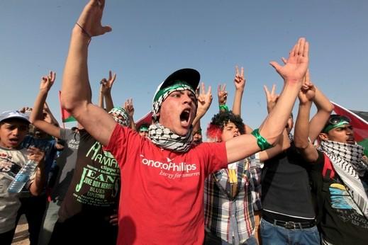 مظاهرات في الأردن ضد خطة كيري