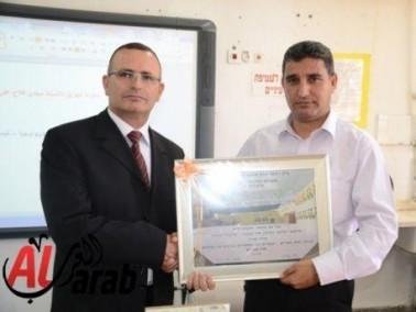 تكريم المحامي مجدي فلاح لتبرعه للشاملة كسرى