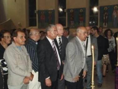 حيفا:قداس خميس الأسرار في كنيسة يوحنا المعمدان