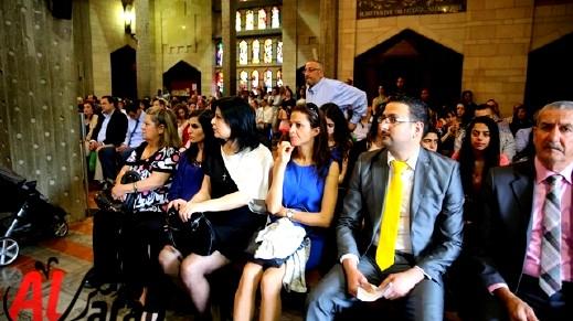 قداس عيد الفصح المجيد في الناصرة