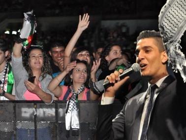 الناصرة: الالاف في حفل محبوب العرب محمد عساف