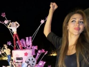 بالصور: ميريام فارس تحتفل بعيد ميلادها