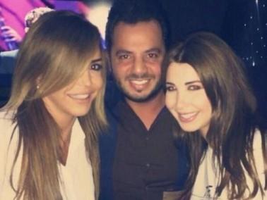 بالصور:نانسي عجرم تحتفل بعيد ميلادها مع الأصدقاء