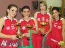هبوعيل فتيات ونساء يافة الناصرة لكرة السلة يحتفل بارتقائه للممتازة