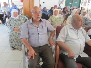 اعضاء نادي المسنين في بلدة كفركنا يحيون ذكرى الاسراء والمعراج
