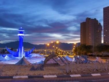 إيلات إحدى أكبر المراكز السياحية في إسرائيل