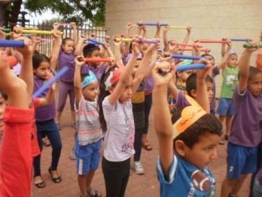 تنظيم برنامج المعابر في مدرسة الحجاجرة الابتدائية