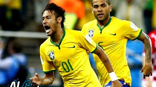 البرازيل تلتقي كرواتيا في المباراة الأولى للبطولة