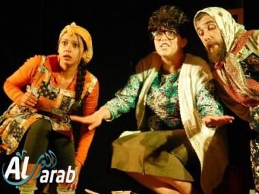 عكا:عرض مسرحية طفشة لطلاب مدرسة اورط