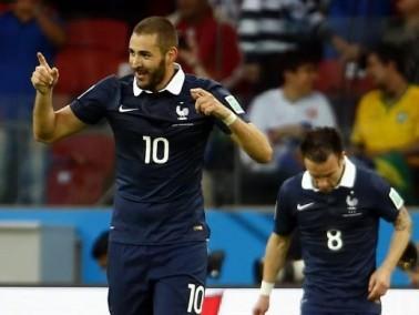 بنزيما يقود المنتخب الفرنسي لاكتساح نظيره هندوراس