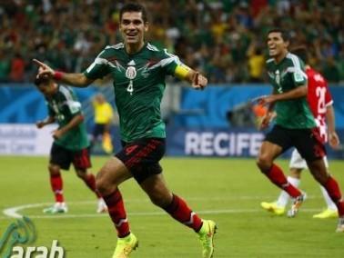 المكسيك تعبر كرواتيا وتصطدم بمواجهة الطواحين