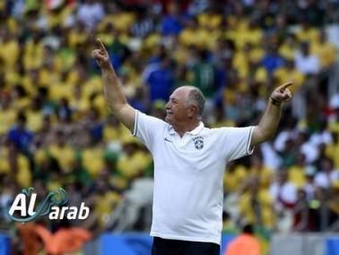 سكولاري مدرب البرازيل: مستوى الفريق يتحسن
