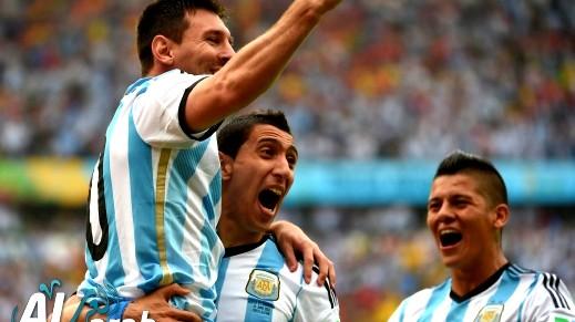 الأرجنتين تسحق نيجيريا في مباراة حماسية