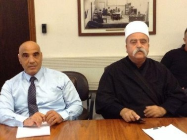 موفق طريف وحمد عمار يلتقيان رئيس ادارة الكهرباء