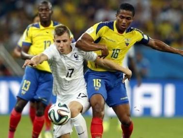 المنتخب الفرنسي يتعادل مع منتخب الاكوادور