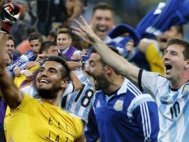 كأس العالم 2014 : الأرجنتين تهزم هولندا بركلات