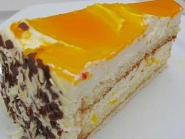 إليك طريقة تحضير الكعكة المحشوة بالمانجا