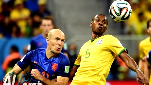 اهداف مباراة منتخب البرازيل امام منتخب هولندا في كأس العالم 2014