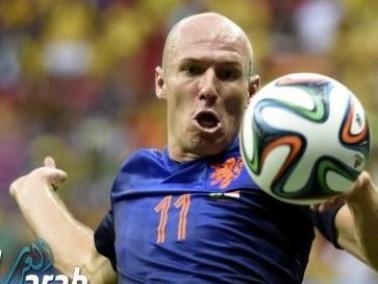 جناح المنتخب الهولندي روبن: كنا نستحق أفضل من هذا