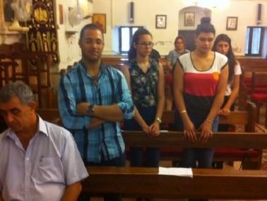 لقاءات روحية في كنيسة جوارجيوس في ابو سنان