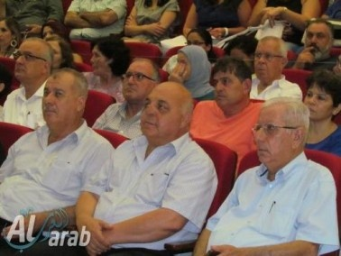 الناصرة: عرض حادي القوافل احياء للقائد توفيق زياد