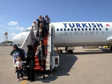 تركيا ترفع الحظر عن الرحلات الجوية إلى مطار بن غوريون