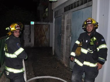 تسرب غاز في حي الرام بمدينة الناصرة وقوات الاطفاء والشرطة في المكان