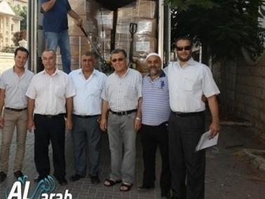 إنطلاق شحنة مساعدات طبية من مدينة الطيرة الى غزة