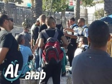 القدس:إعتقال 57 عربيا بشبهة الإخلال بالنظام