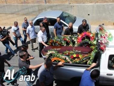 انطلاق موكب جنازة الشاعر الفلسطيني الكبير سميح القاسم