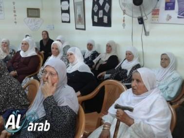 عارة: محاضرة صحية قيّمة للدكتور احمد فوزي يونس