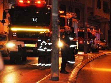 الناصرة: اصابة شخصين في انفجار انبوب غاز