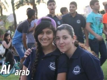 طلاب الأهلية للتميّز بيت بيرل في جامعة تل أبيب