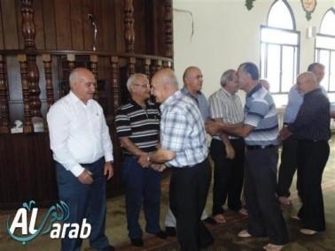 توديع حجاج بيت الله الحرام في كوكب أبو الهيجاء