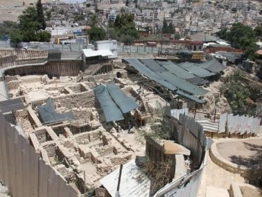 مؤسسة الاقصى: حفريات تدمر آثارا إسلامية