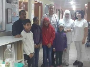 مجلس طلاب الحجاجرة يزور مستشفى الانجليزي