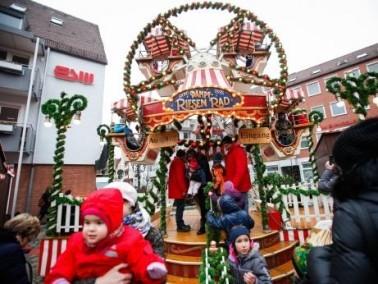 المانيا:الأطفال يستمتعون بسوق الميلاد