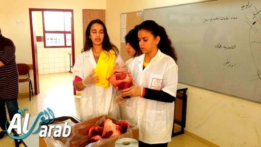 يوم العلوم في مدرسة الرسالة الشاملة في نحف