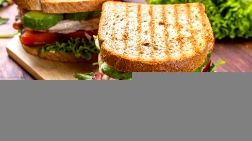 تحضير ساندويش خبز البانيني الشهي..صحة